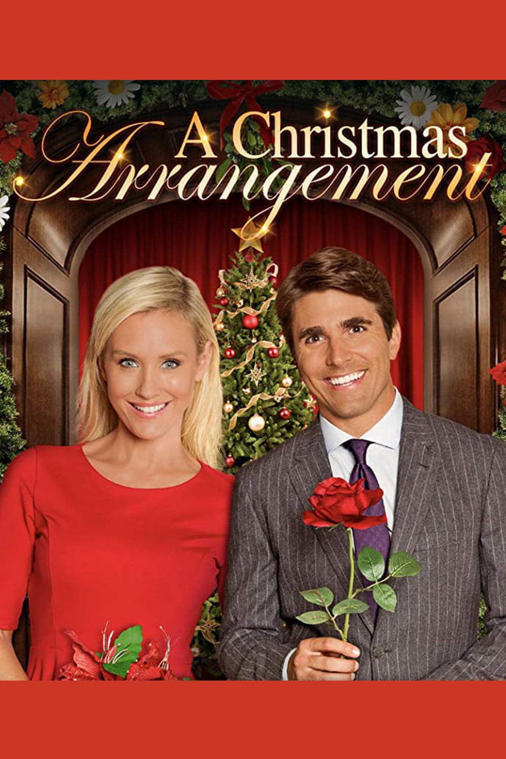 "Poster for the movie ""A Christmas Arrangement"""