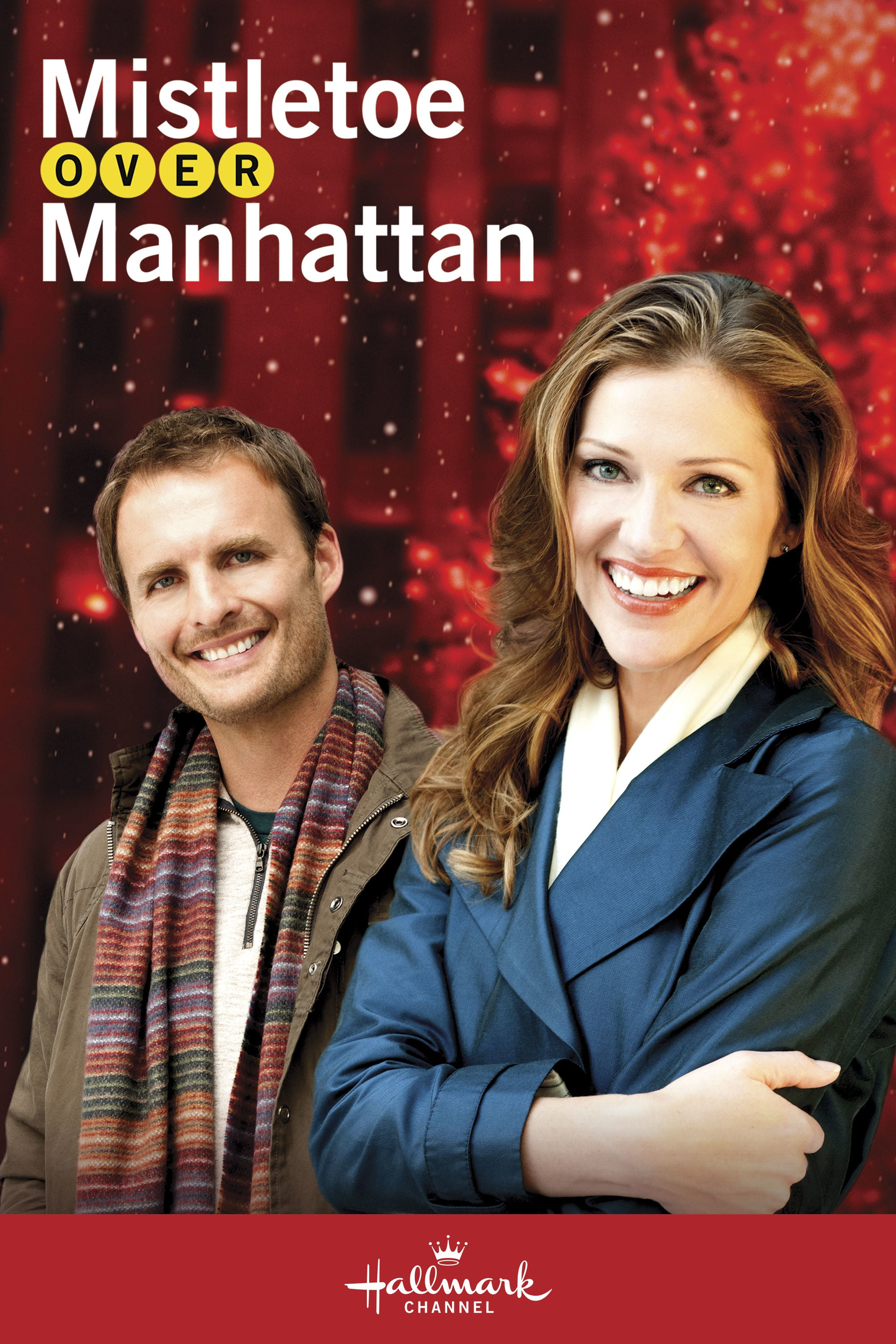 "Poster for the movie ""Mistletoe Over Manhattan"""