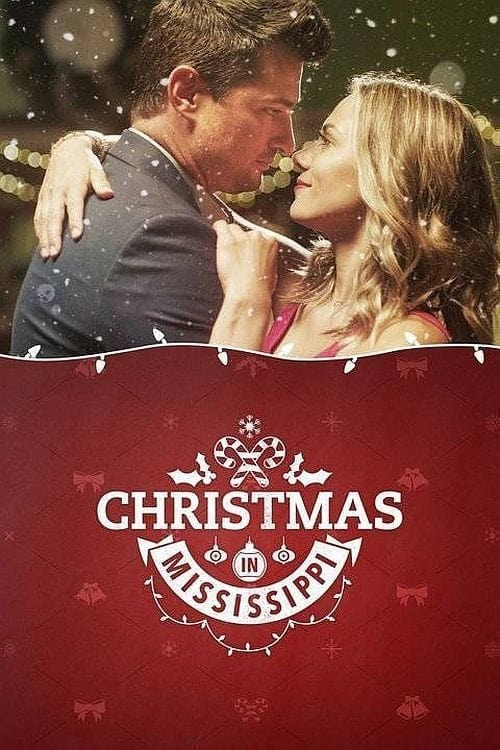 """Poster for the movie """"Christmas in Mississippi"""""""