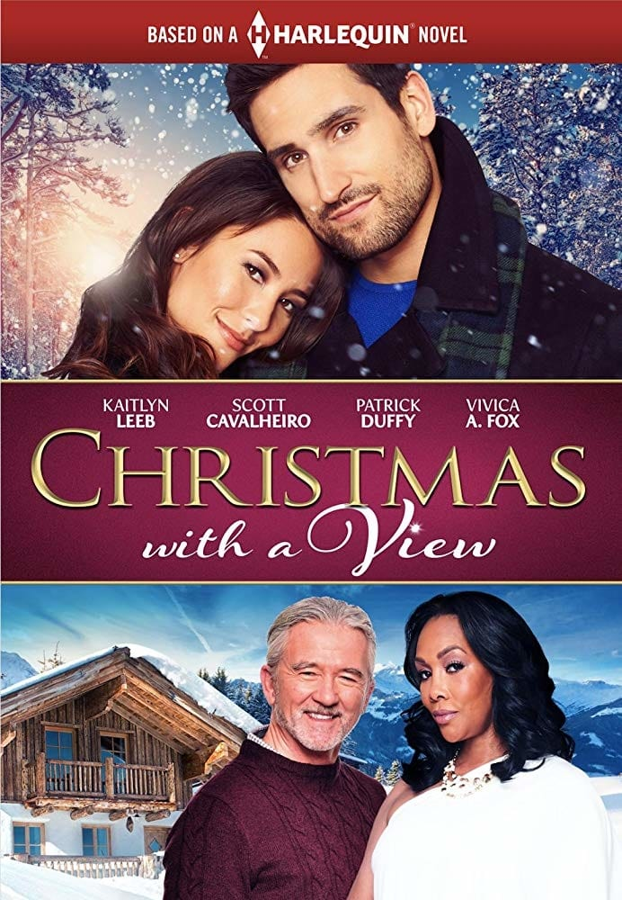 """Poster for the movie """"Christmas with a View"""""""