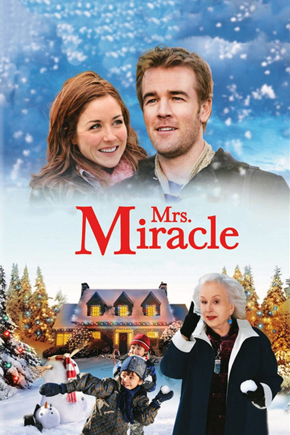 "Poster for the movie ""Mrs. Miracle"""