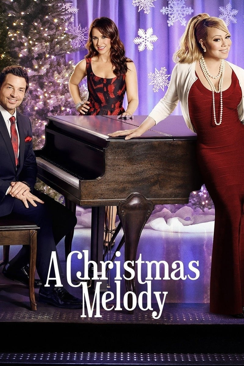 """Poster for the movie """"A Christmas Melody"""""""