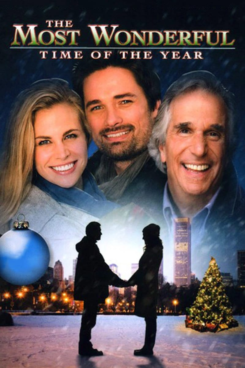 "Poster for the movie ""The Most Wonderful Time of the Year"""