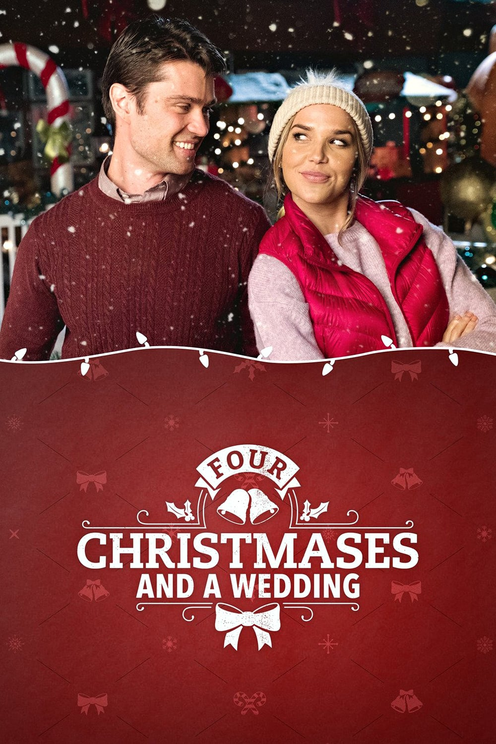 """Poster for the movie """"Four Christmases and a Wedding"""""""