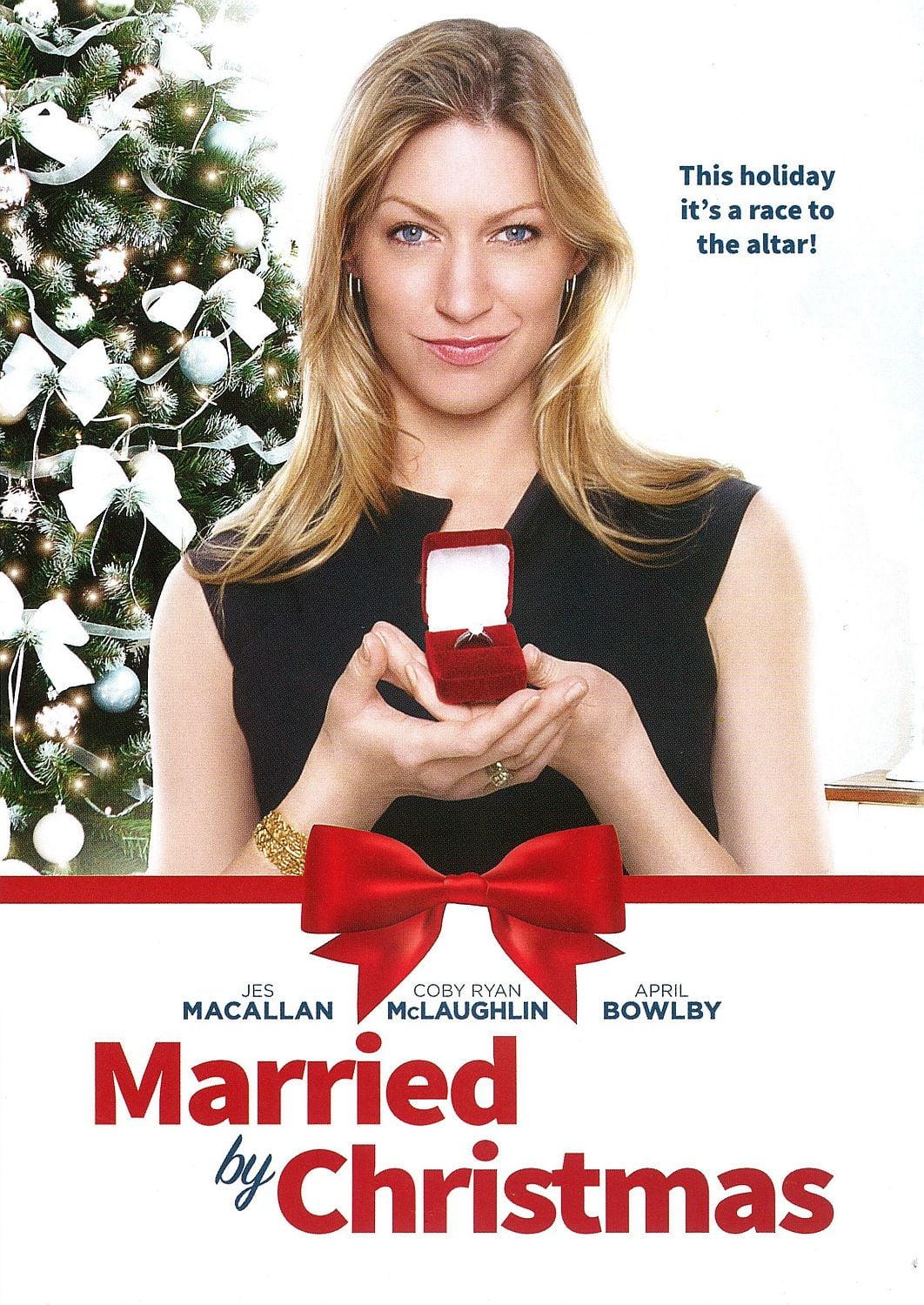 """Poster for the movie """"Married by Christmas"""""""