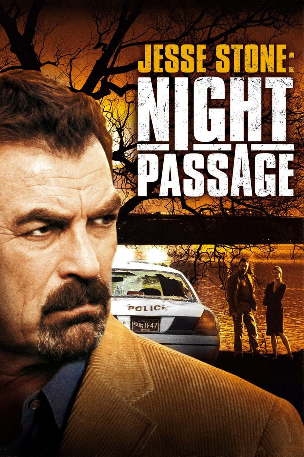 "Poster for the movie ""Jesse Stone: Night Passage"""