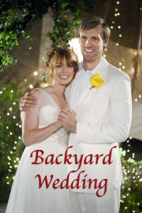 "Poster for the movie ""Backyard Wedding"""