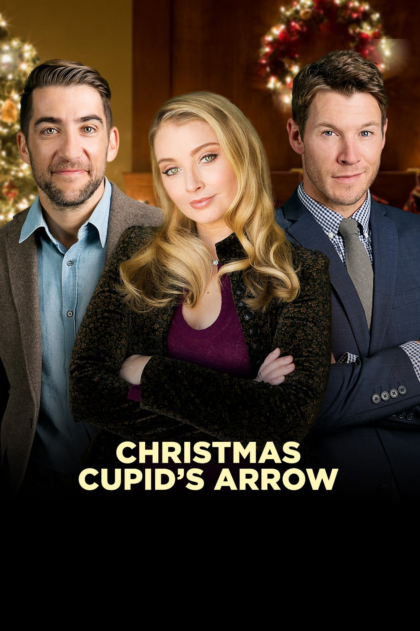 "Poster for the movie ""Christmas Cupid's Arrow"""