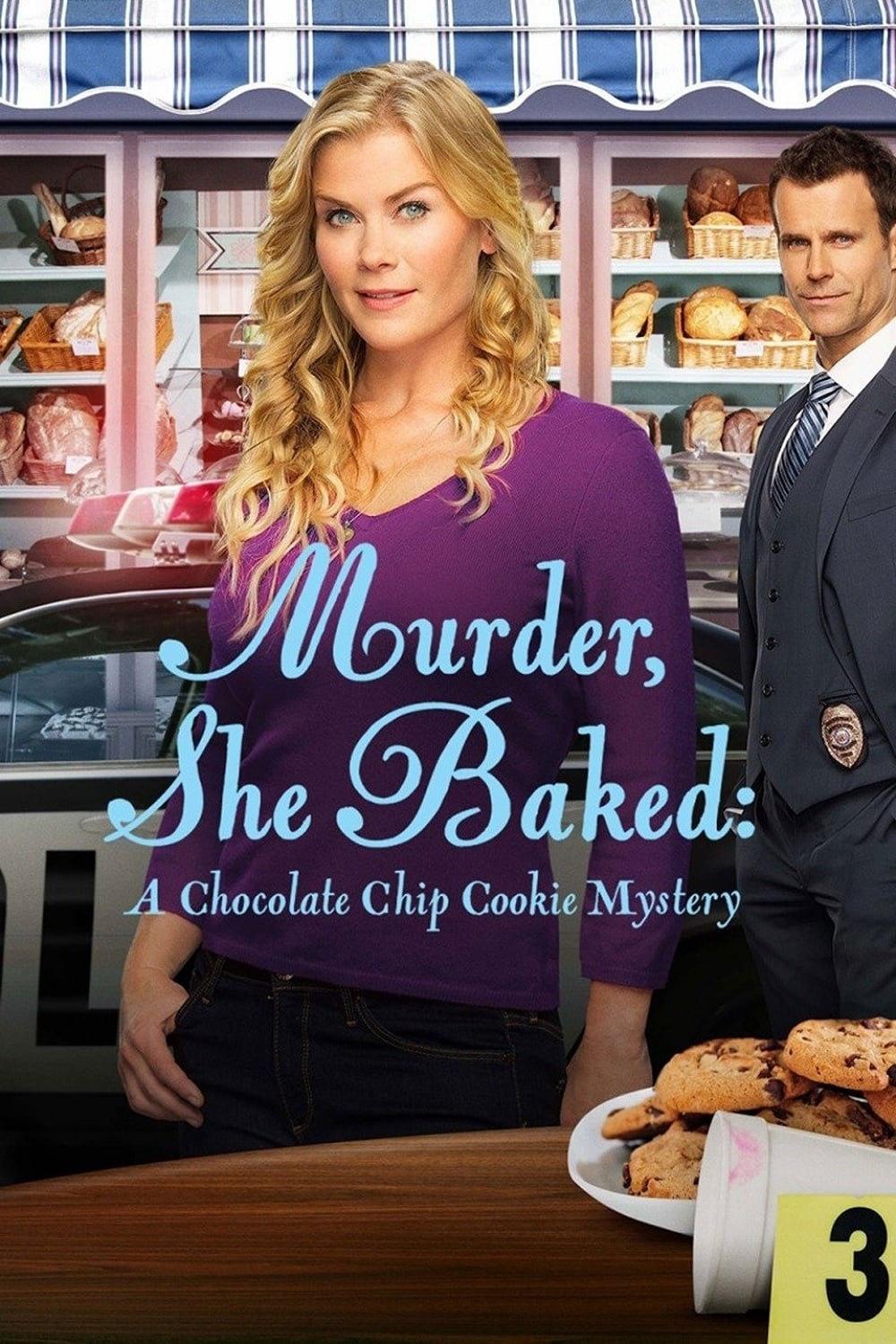 "Poster for the movie ""Murder, She Baked: A Chocolate Chip Cookie Mystery"""
