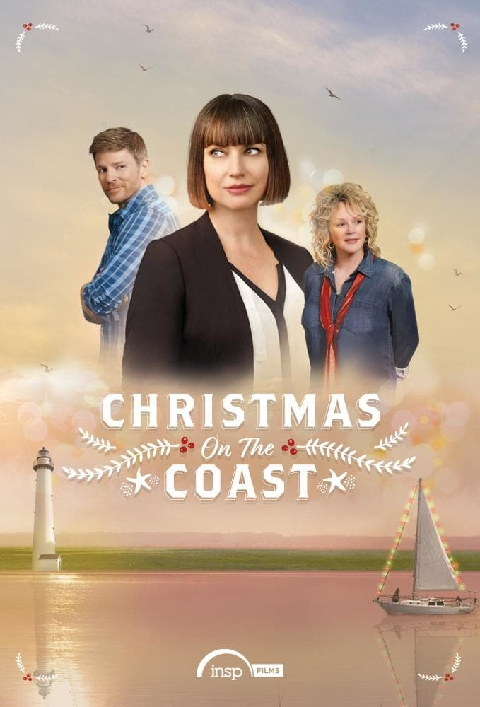 "Poster for the movie ""Christmas on the Coast"""