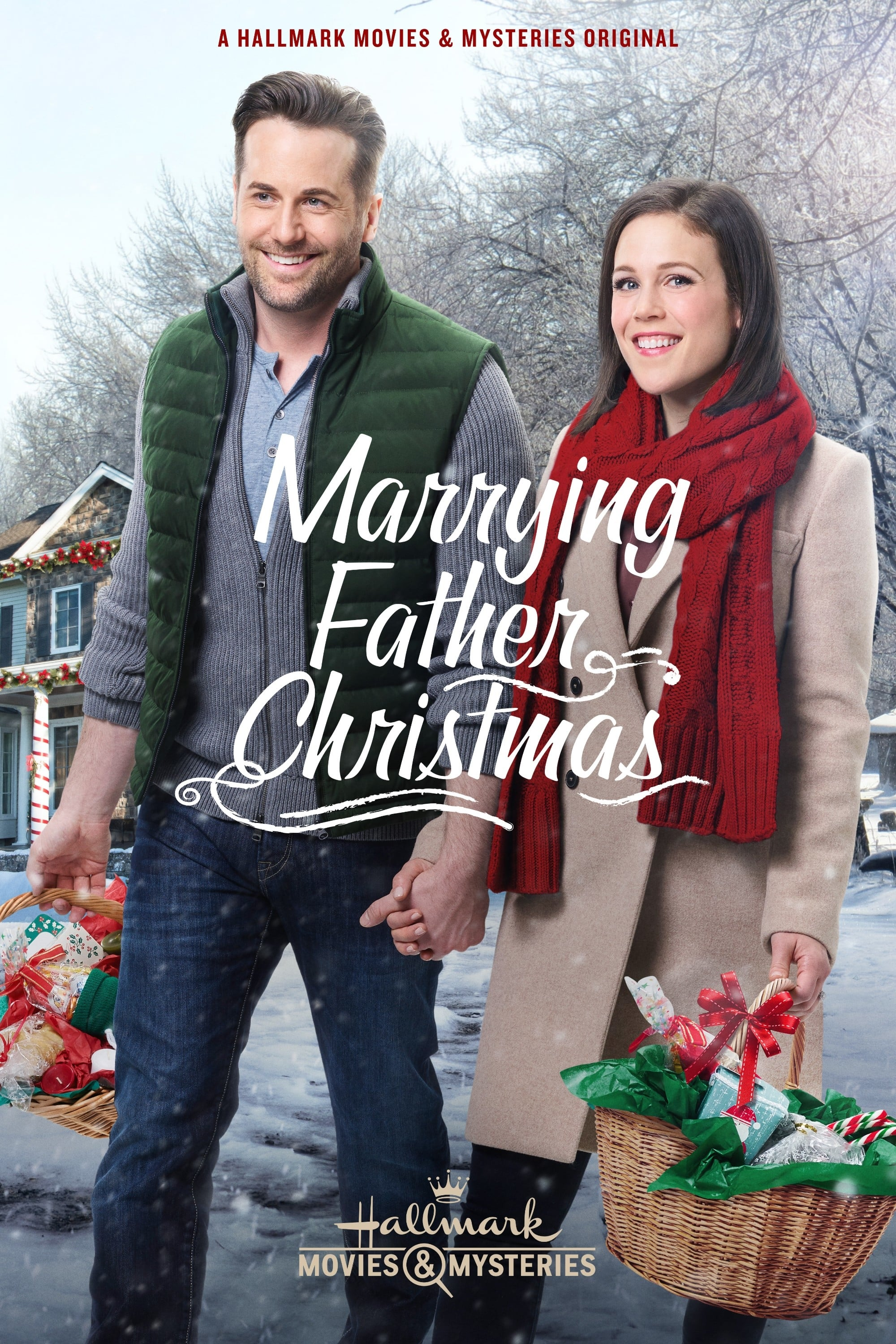 "Poster for the movie ""Marrying Father Christmas"""