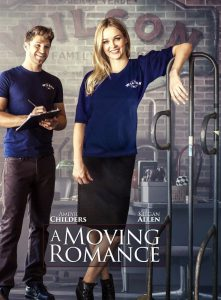 """Poster for the movie """"A Moving Romance"""""""