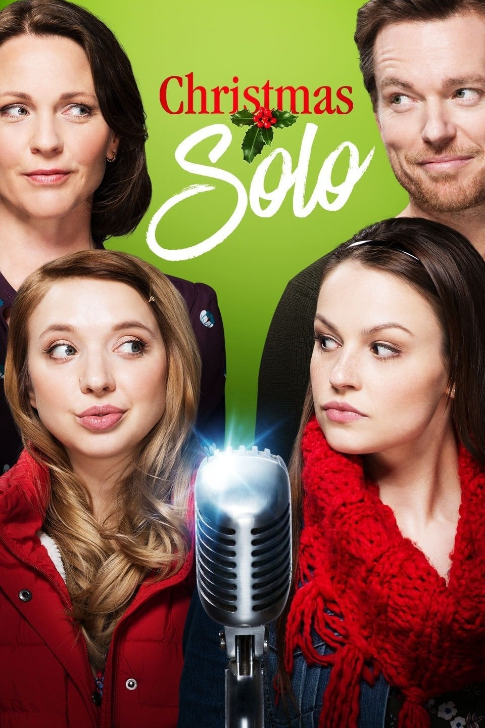 """Poster for the movie """"Christmas Solo"""""""