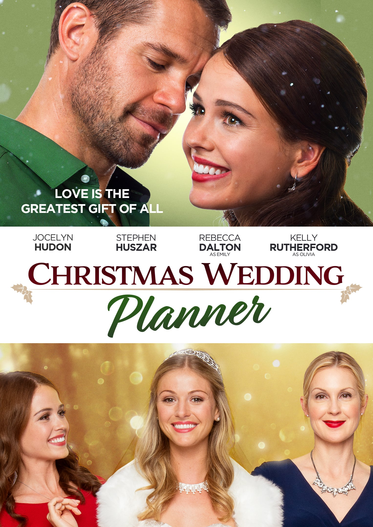 """Poster for the movie """"Christmas Wedding Planner"""""""