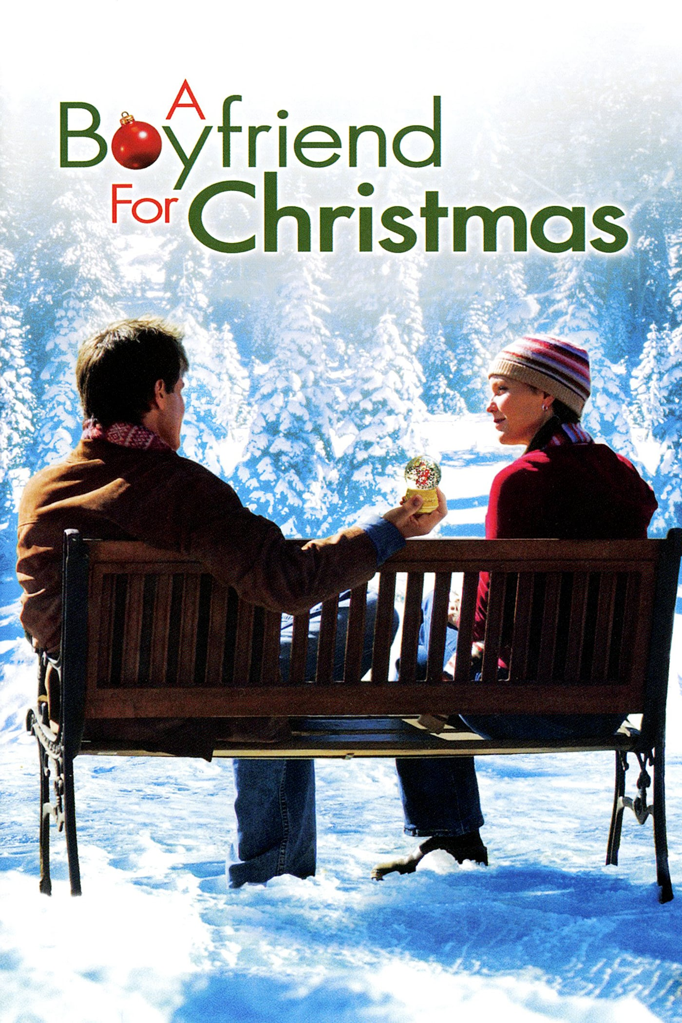 "Poster for the movie ""A Boyfriend for Christmas"""