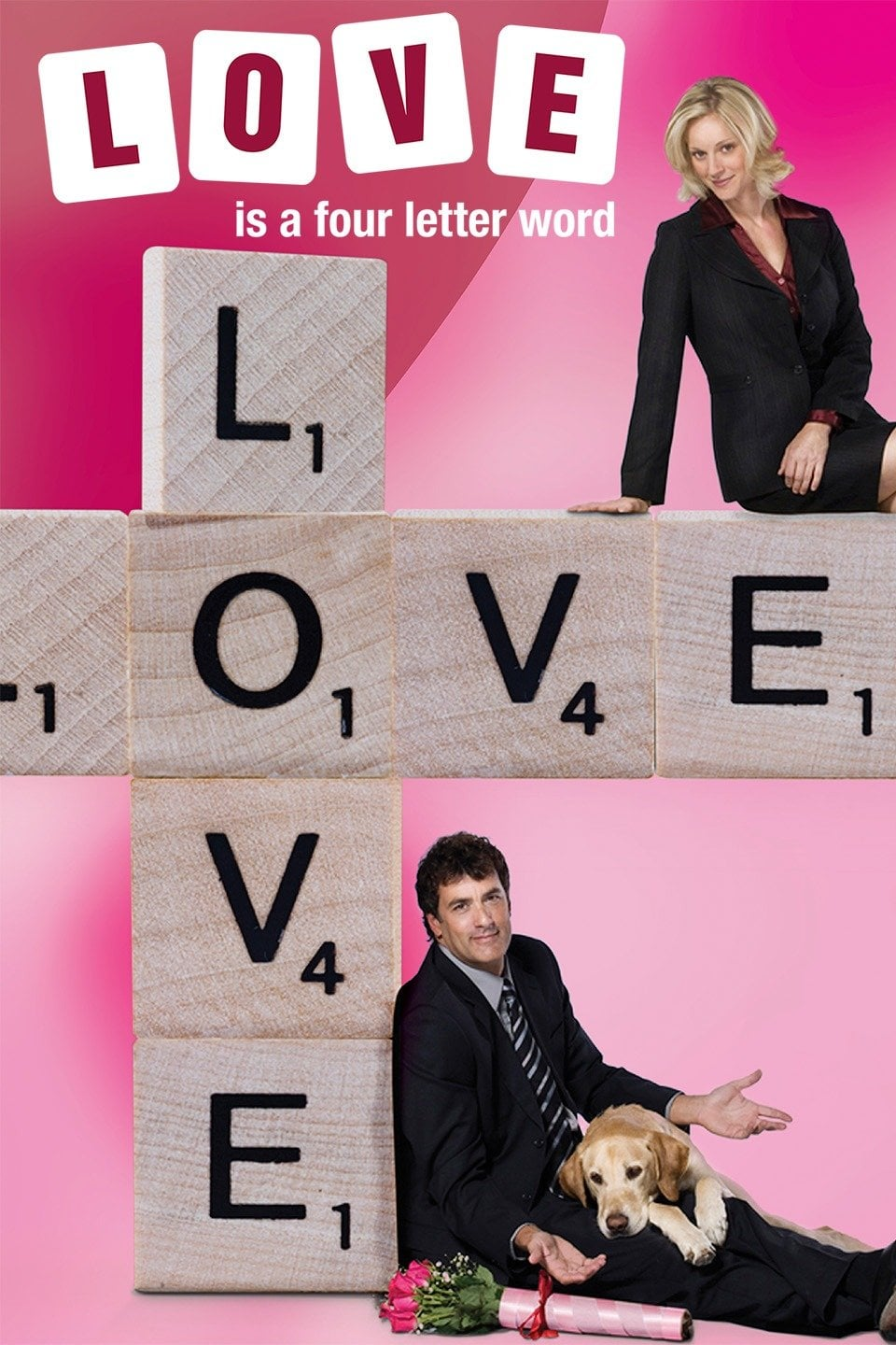 """Poster for the movie """"Love Is a Four Letter Word"""""""