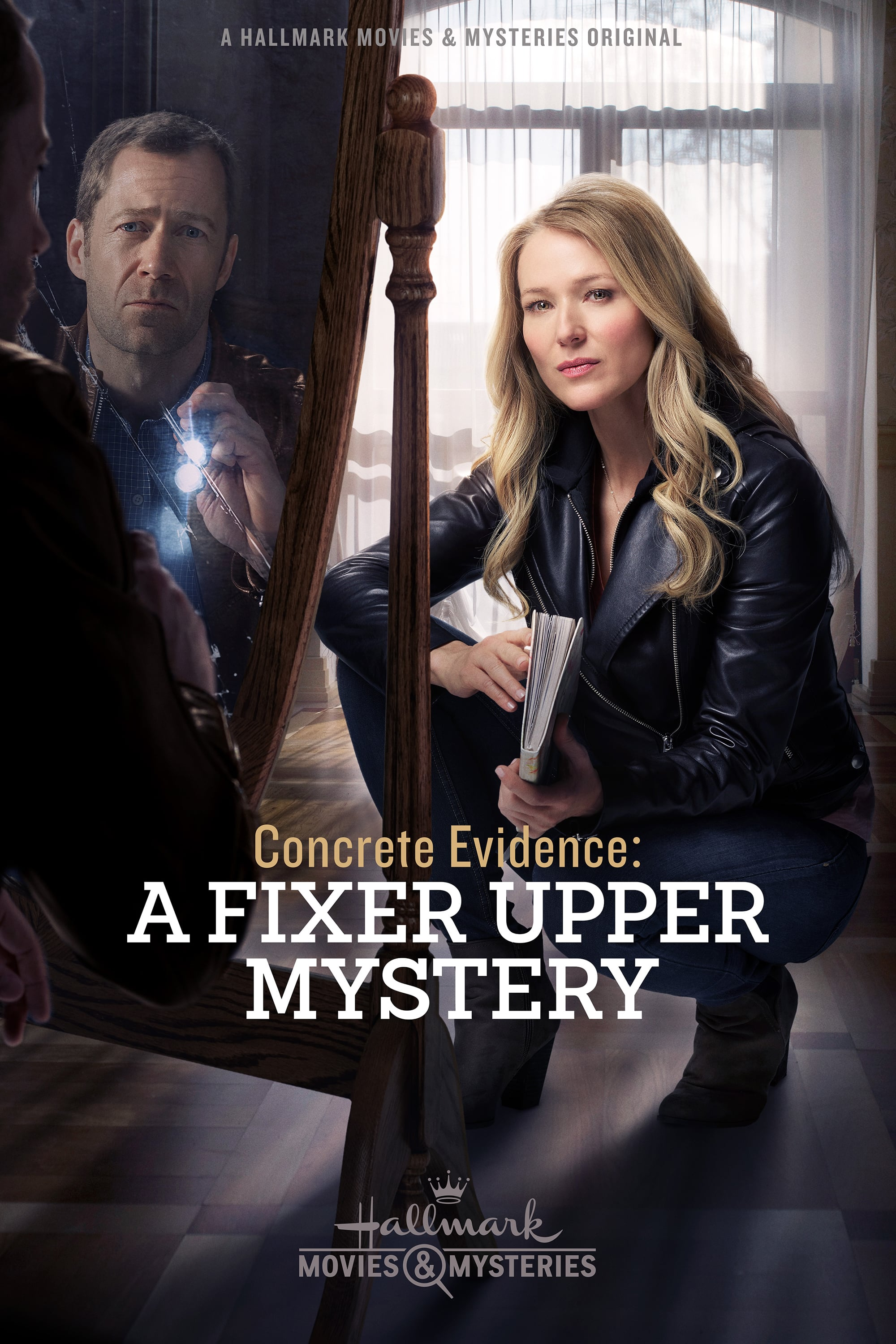 "Poster for the movie ""Concrete Evidence: A Fixer Upper Mystery"""