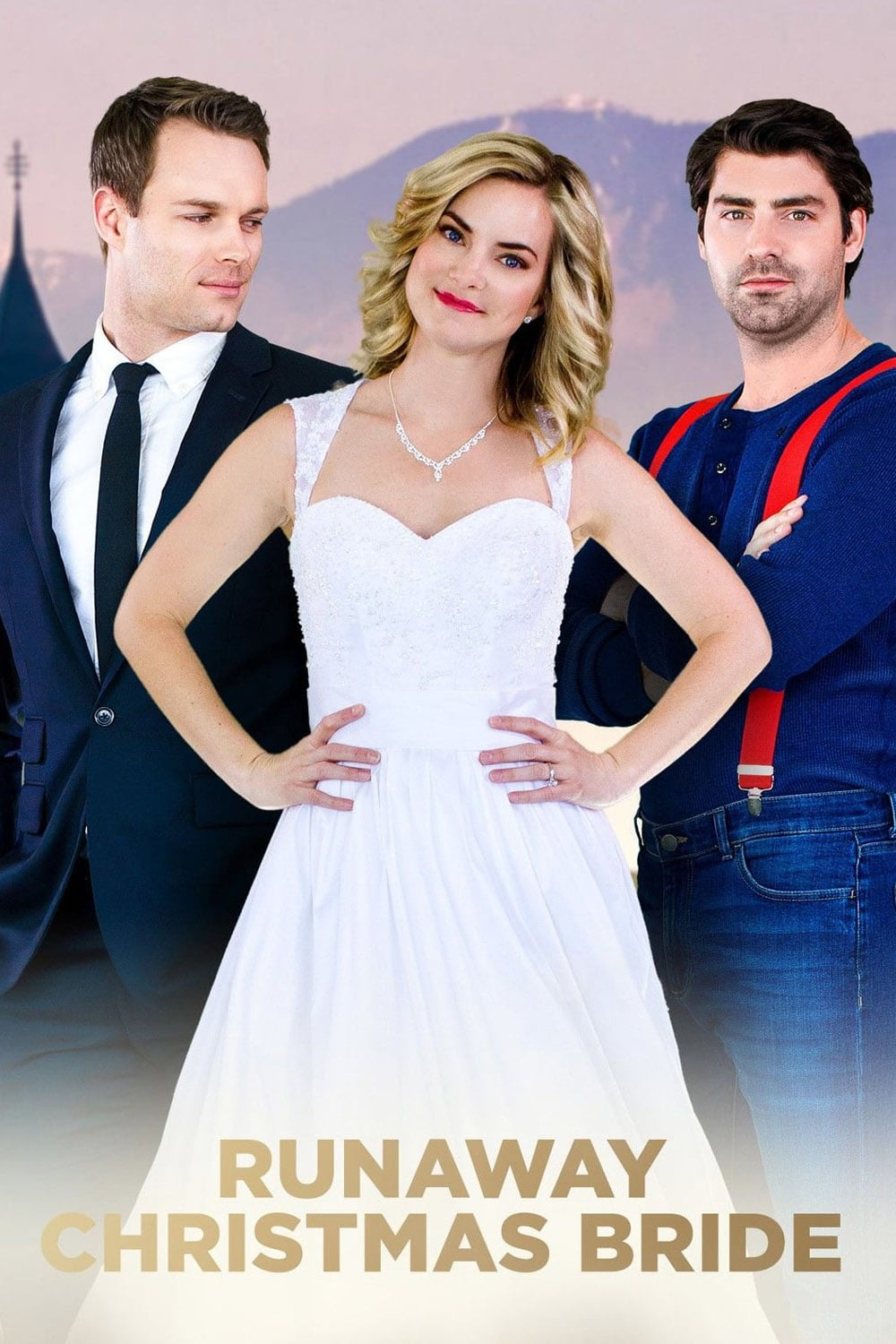 """Poster for the movie """"Runaway Christmas Bride"""""""