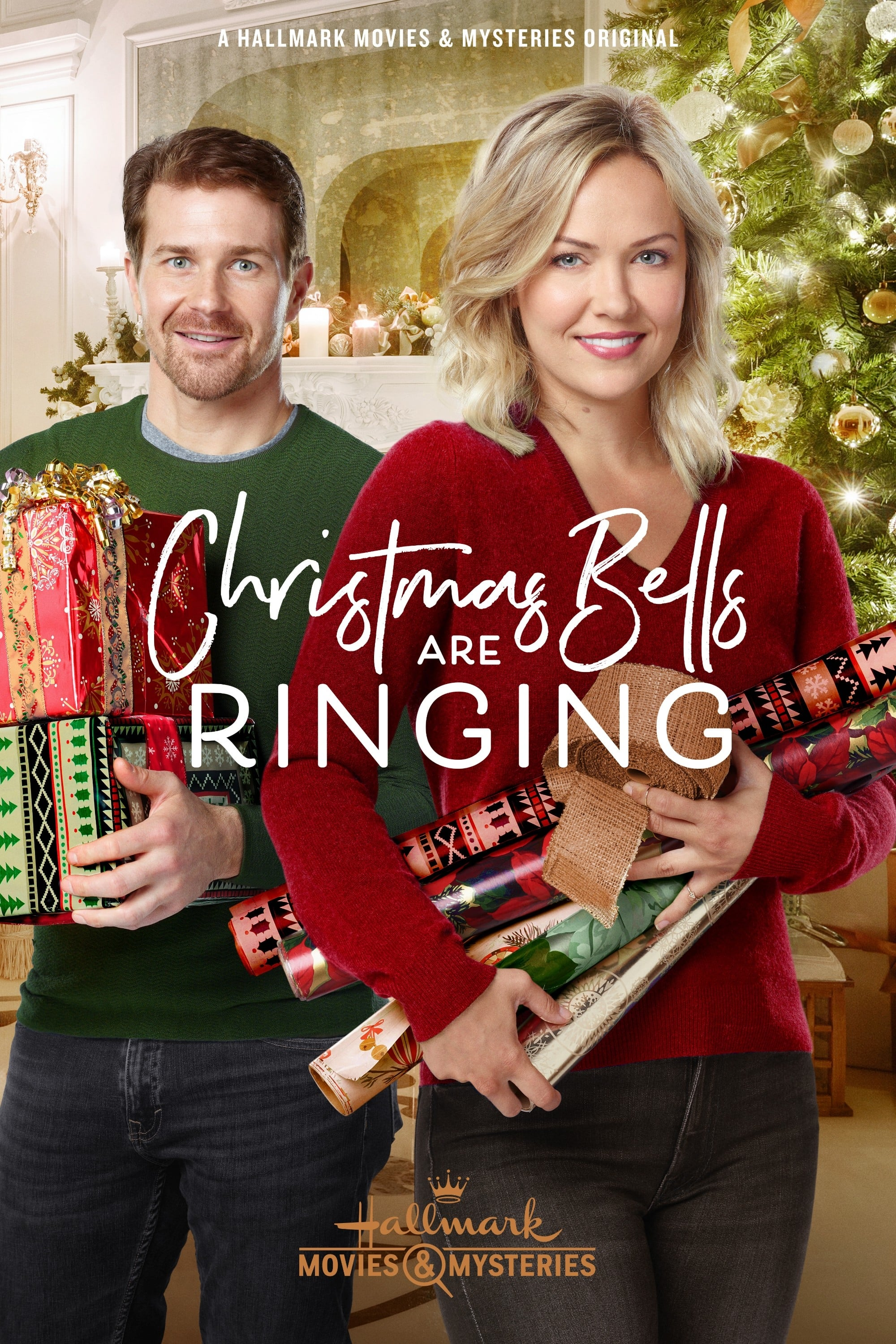 "Poster for the movie ""Christmas Bells Are Ringing"""