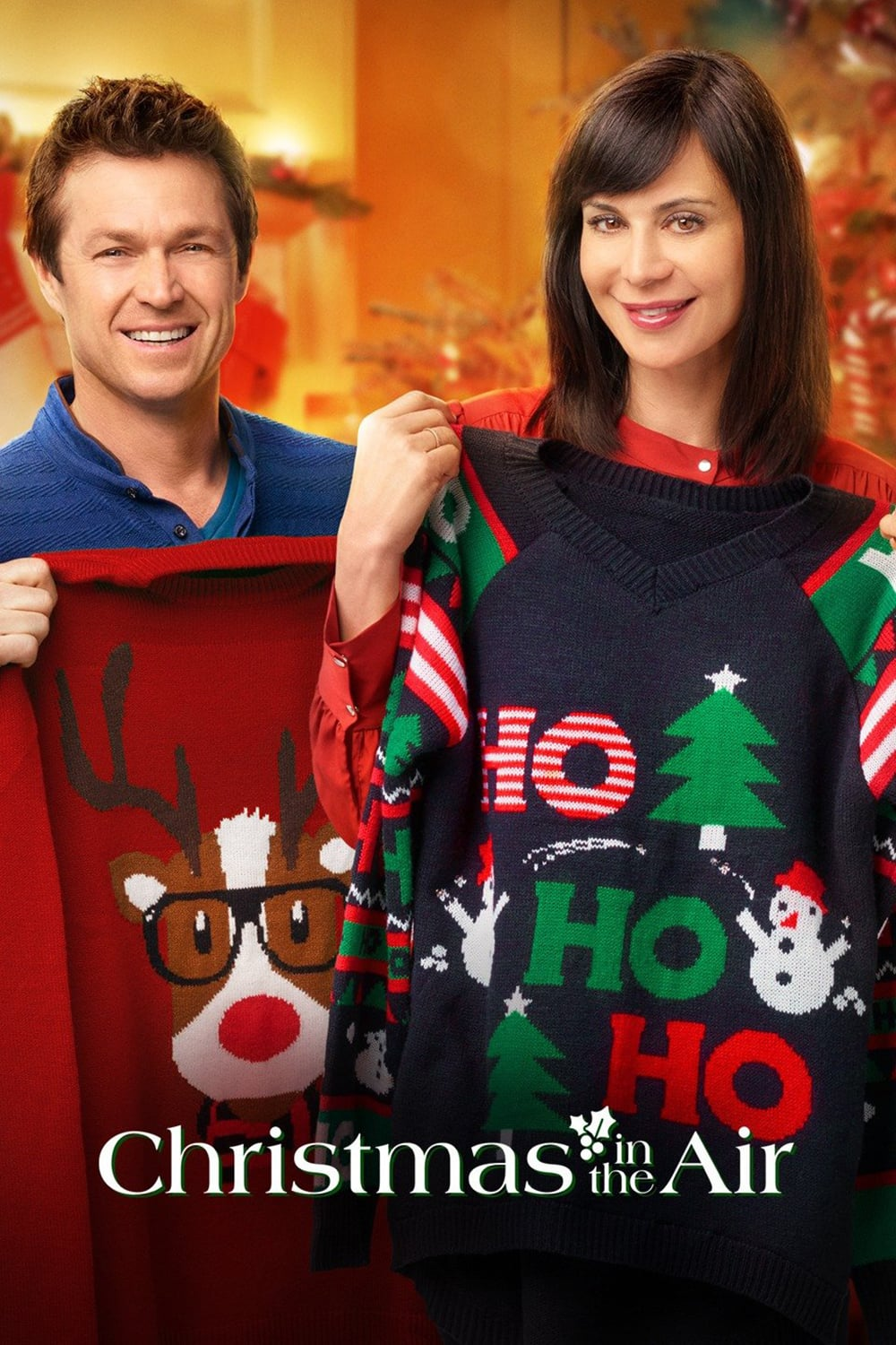 """Poster for the movie """"Christmas in the Air"""""""