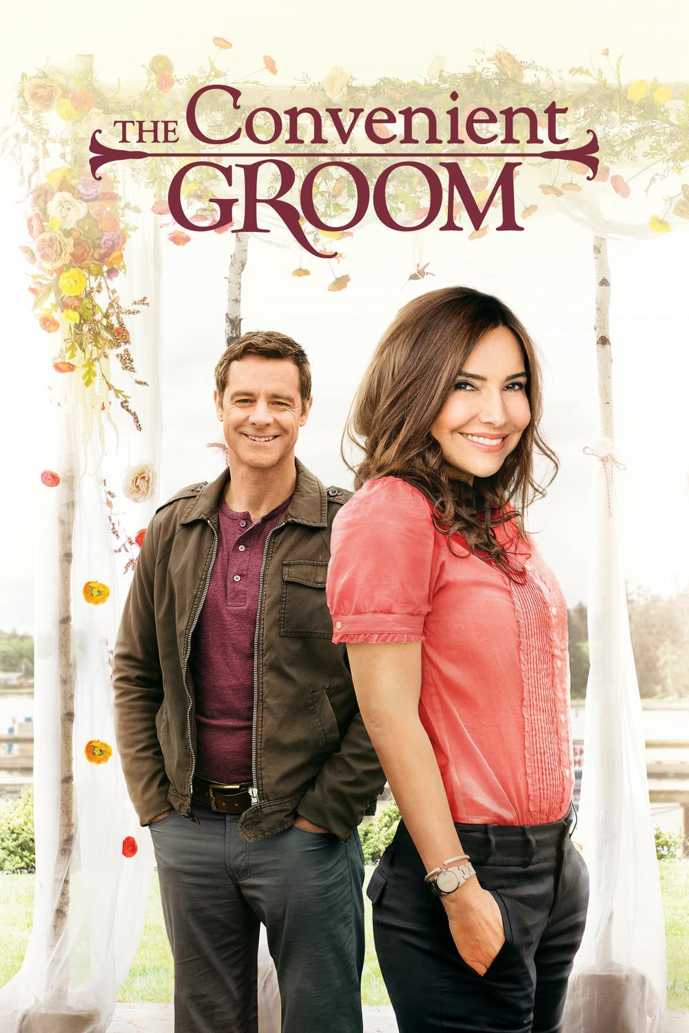 "Poster for the movie ""The Convenient Groom"""