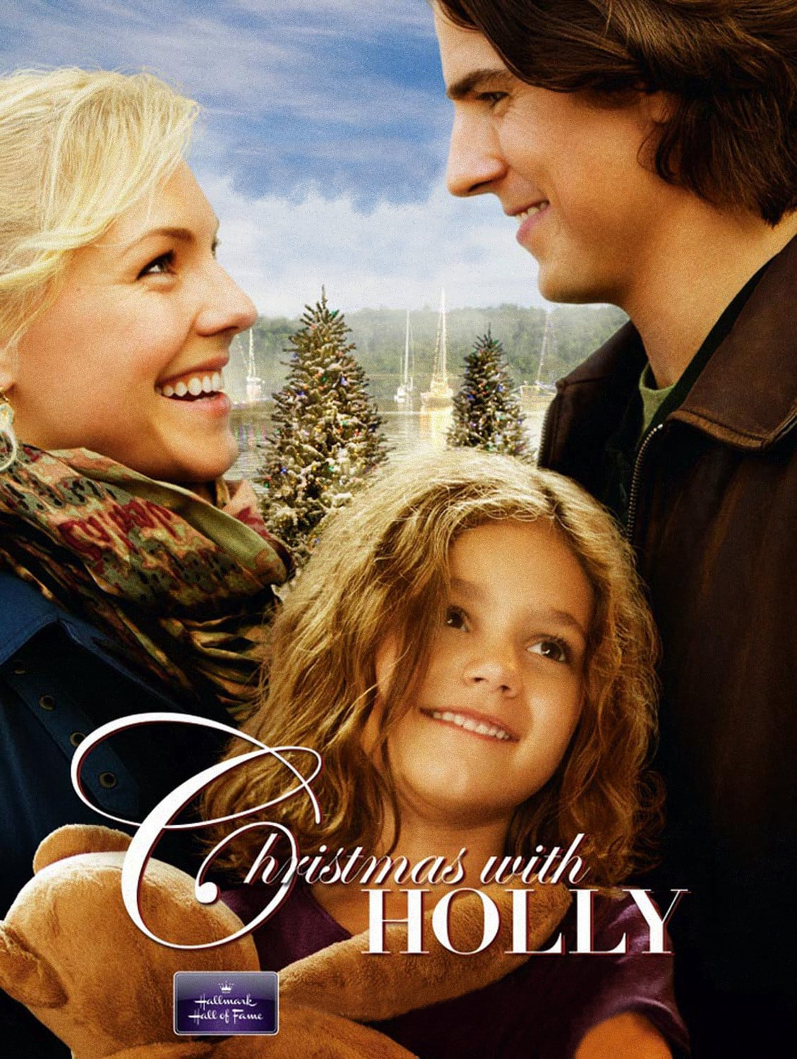 "Poster for the movie ""Christmas with Holly"""