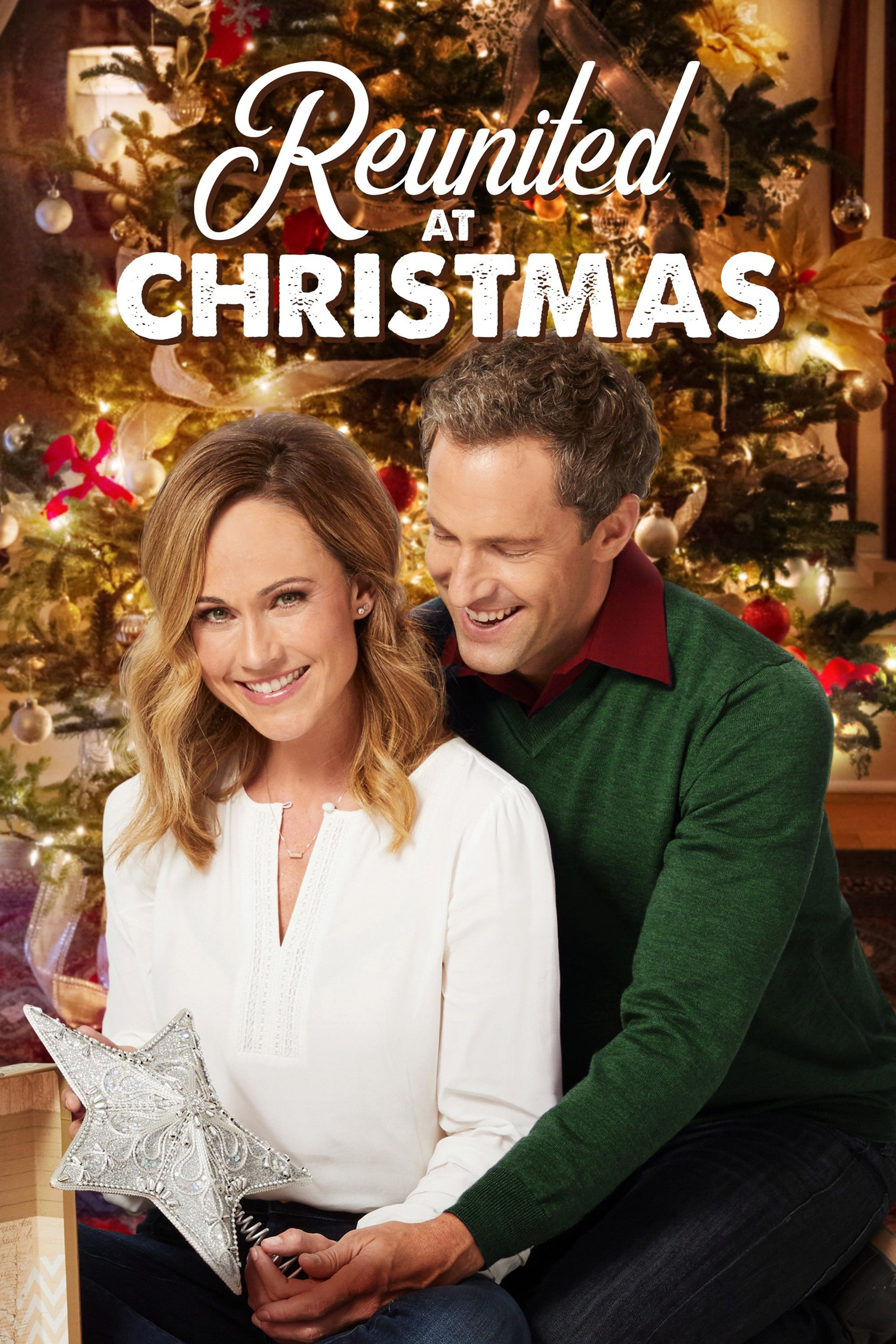 "Poster for the movie ""Reunited at Christmas"""