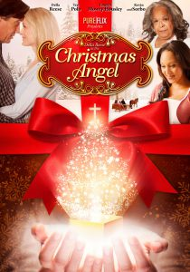 """Poster for the movie """"Christmas Angel"""""""