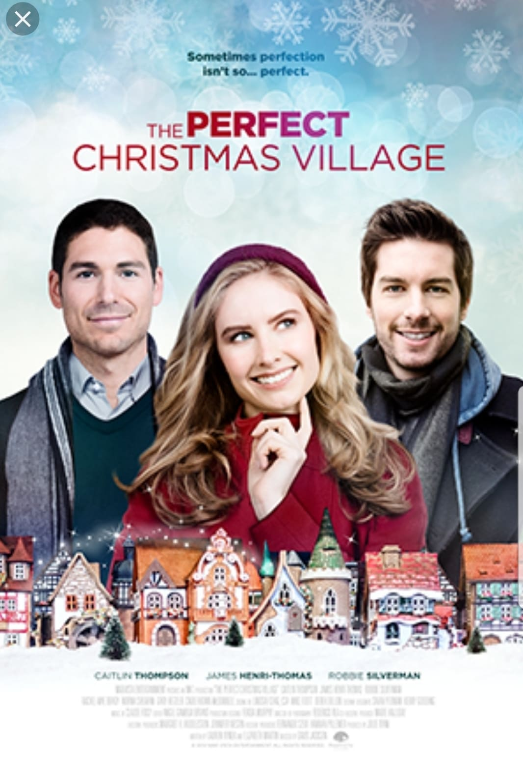 """Poster for the movie """"Christmas Perfection"""""""