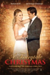 "Poster for the movie ""A Fairytale Christmas (Christmas Belle)"""