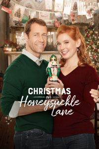 "Poster for the movie ""Christmas on Honeysuckle Lane"""
