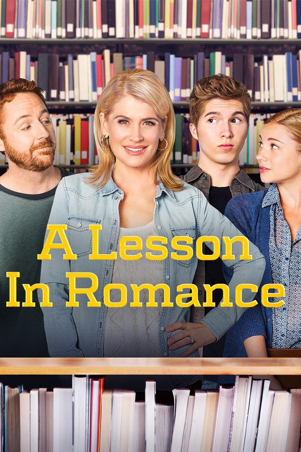 "Poster for the movie ""A Lesson in Romance"""