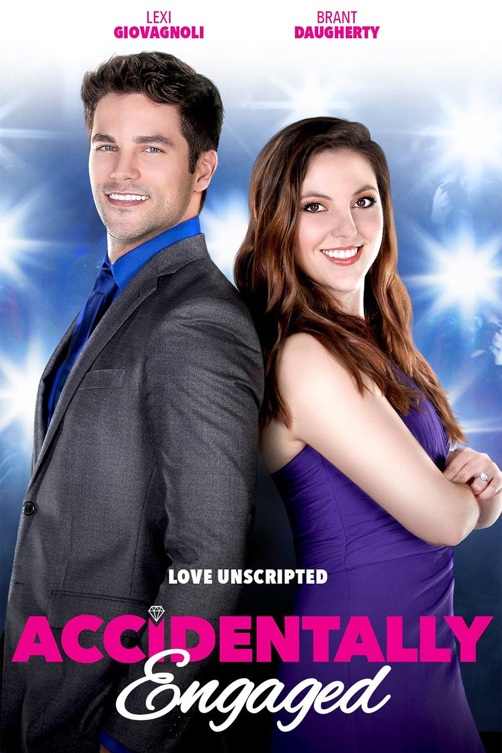 "Poster for the movie ""Accidentally Engaged"""