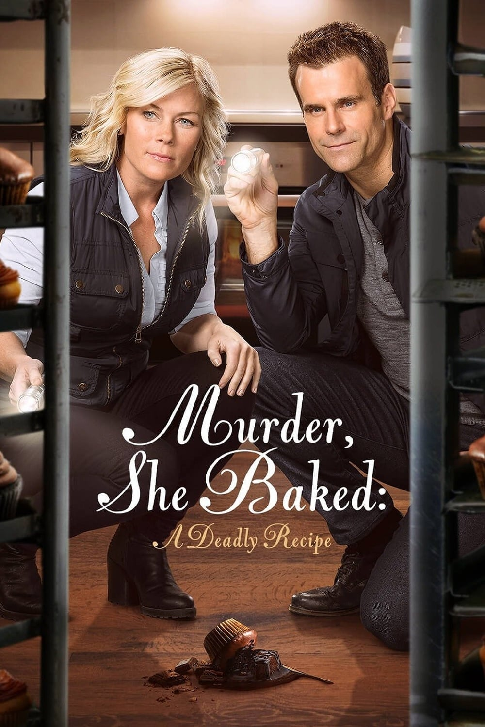 "Poster for the movie ""Murder, She Baked: A Deadly Recipe"""