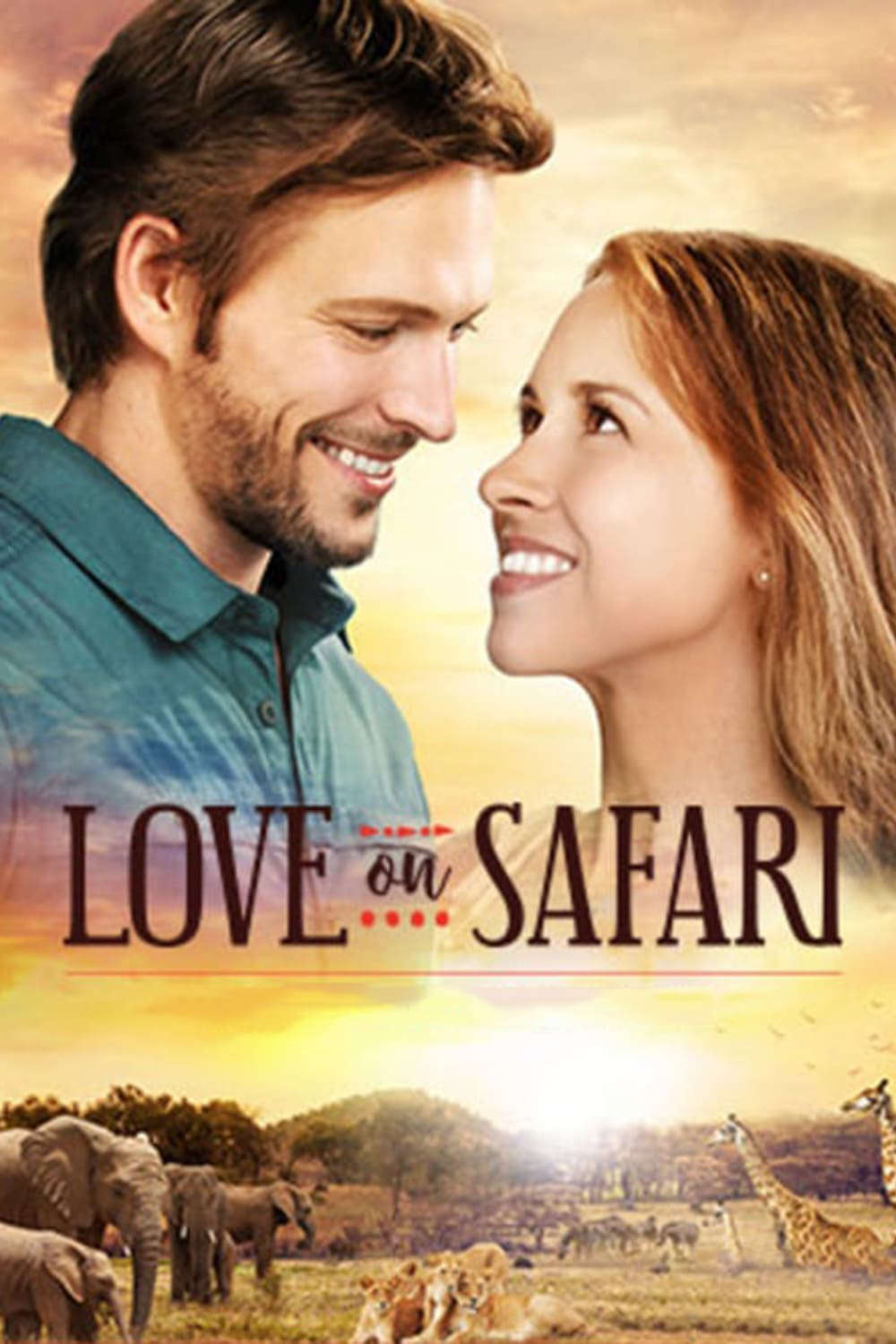 """Poster for the movie """"Love on Safari"""""""