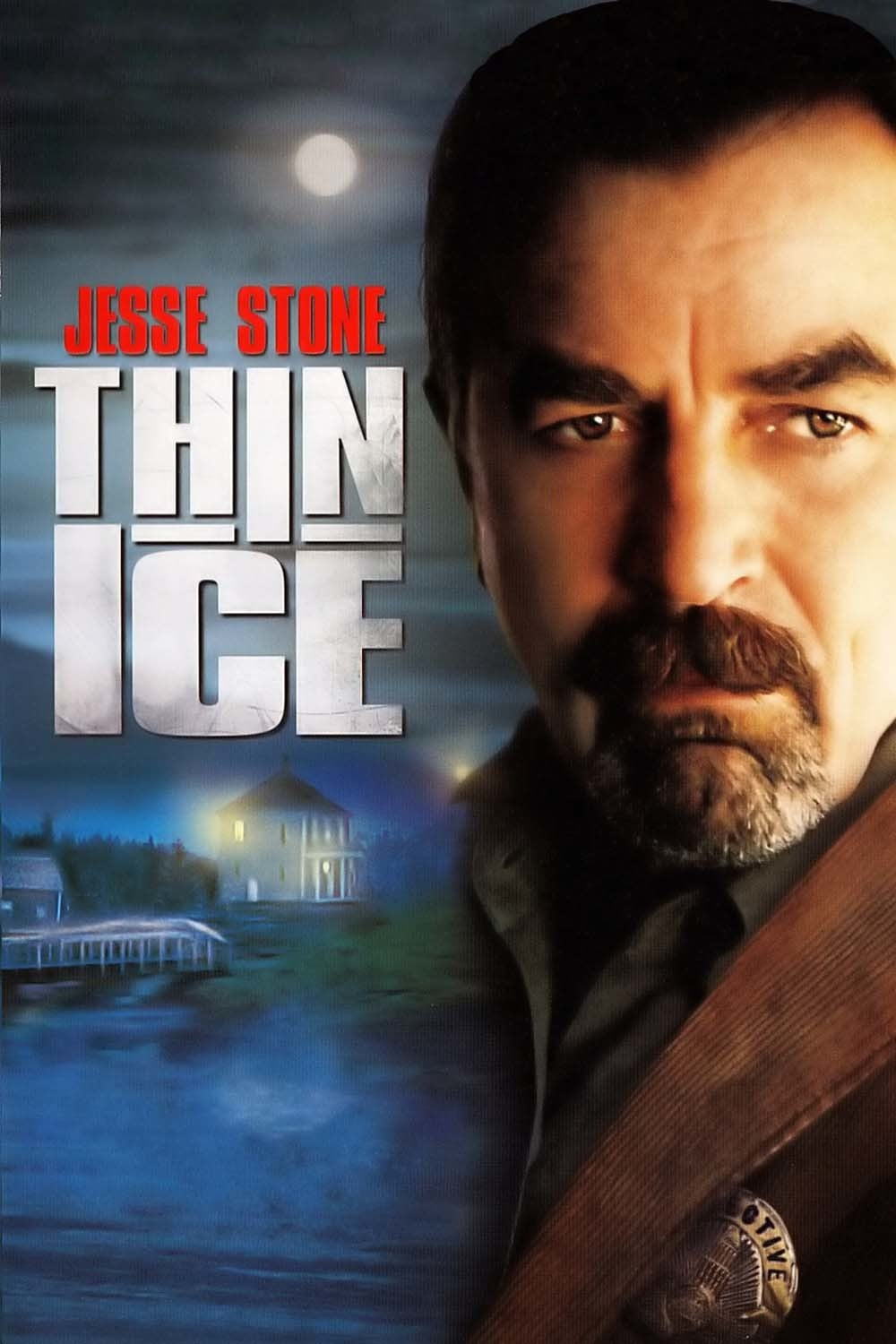"Poster for the movie ""Jesse Stone: Thin Ice"""