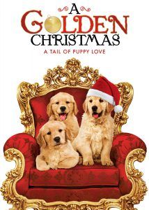 "Poster for the movie ""A Golden Christmas"""