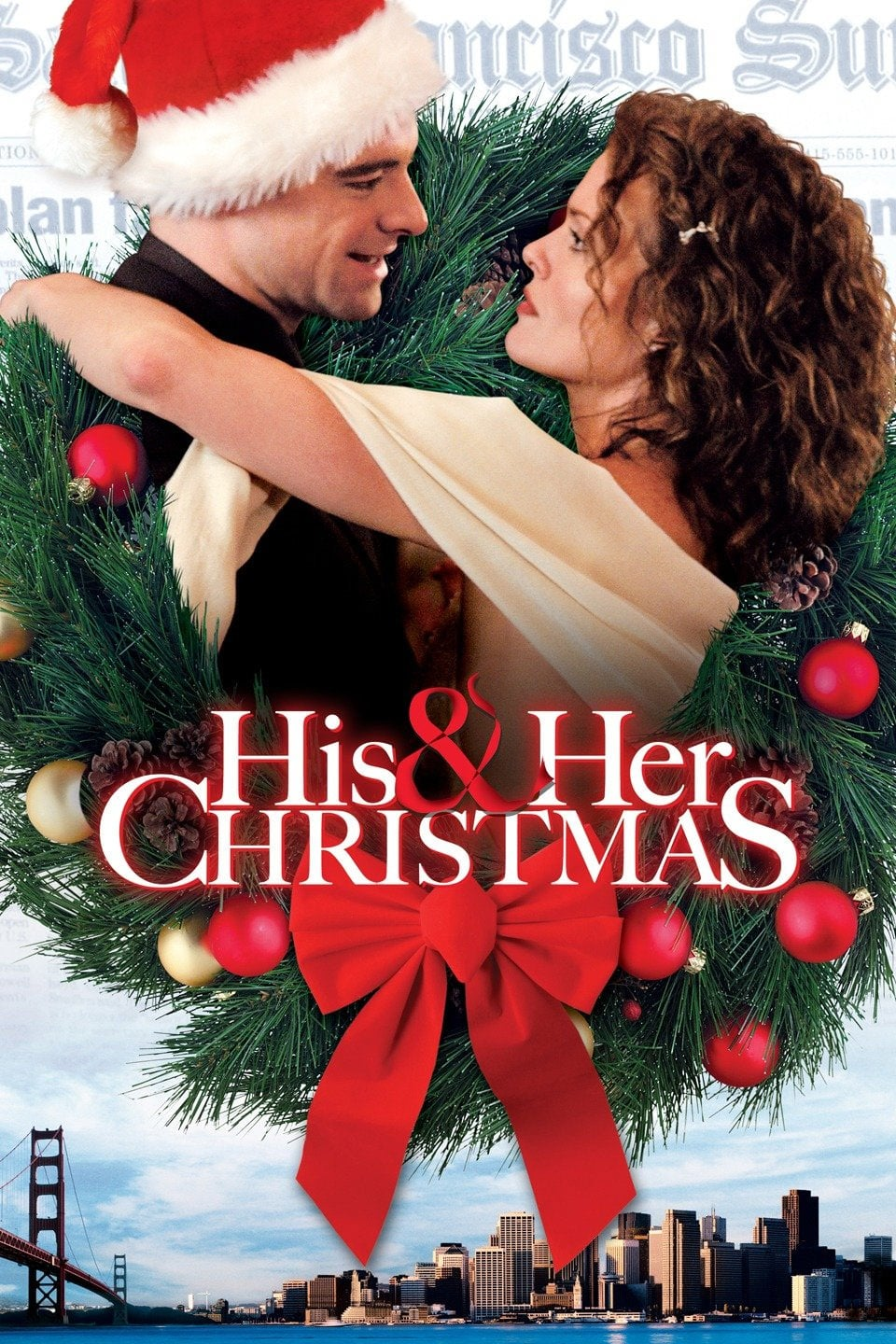 "Poster for the movie ""His and Her Christmas"""