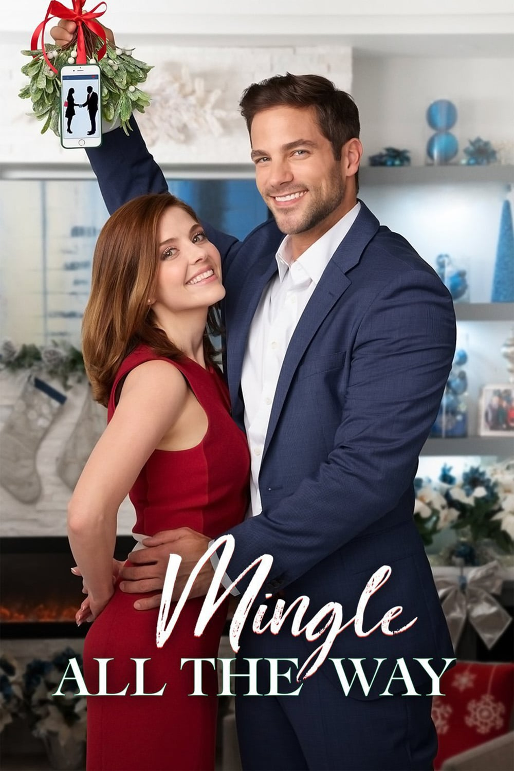 "Poster for the movie ""Mingle All the Way"""