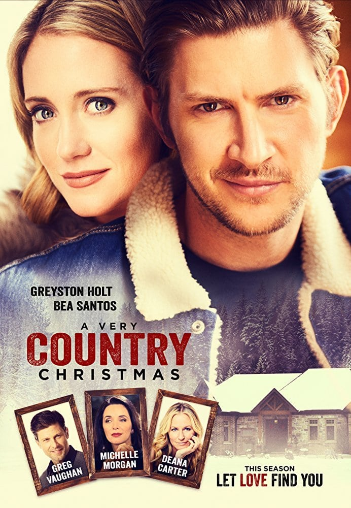 "Poster for the movie ""A Very Country Christmas"""