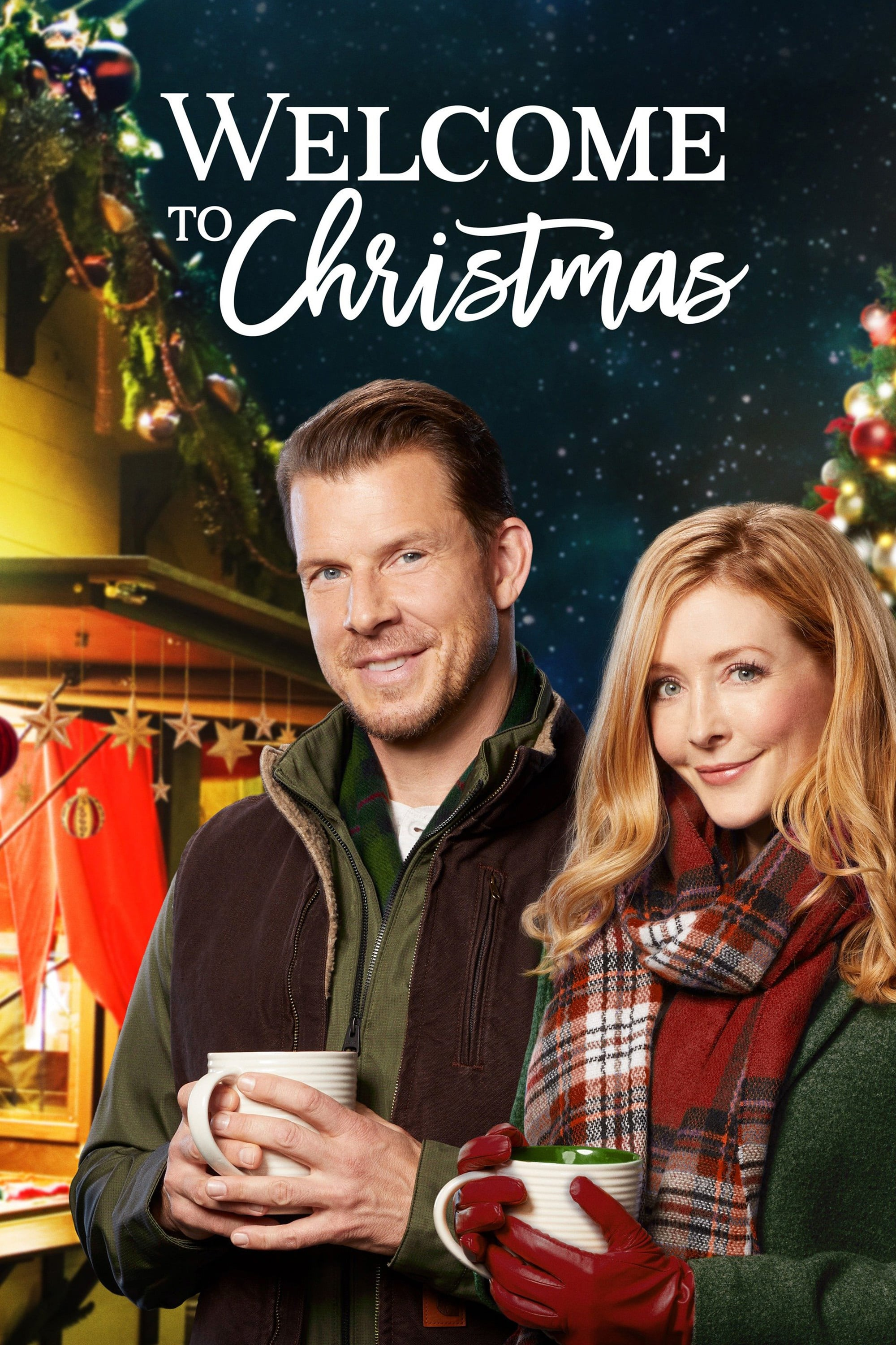 """Poster for the movie """"Welcome to Christmas"""""""