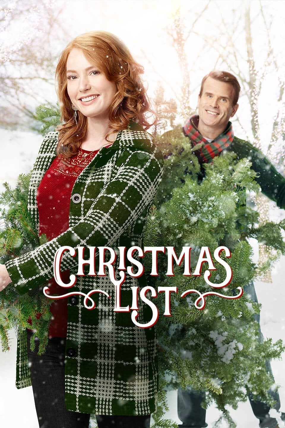 """Poster for the movie """"Christmas List"""""""