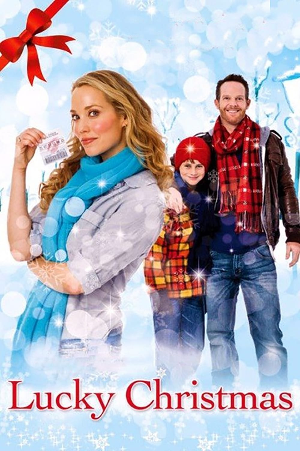"Poster for the movie ""Lucky Christmas"""