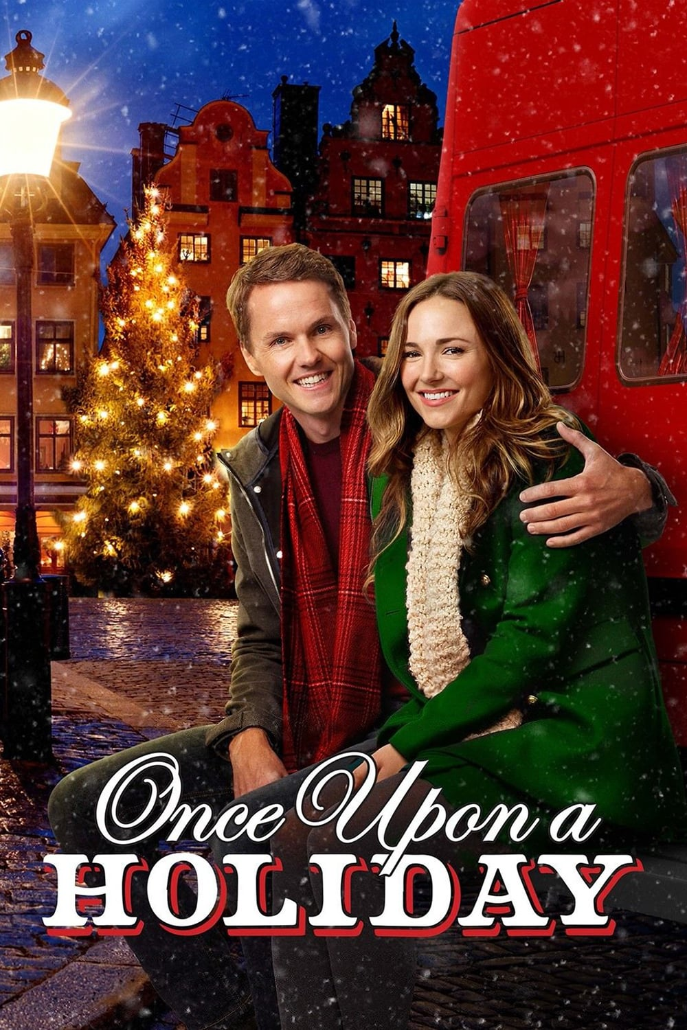 """Poster for the movie """"Once Upon A Holiday"""""""