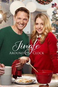 "Poster for the movie ""Jingle Around the Clock"""