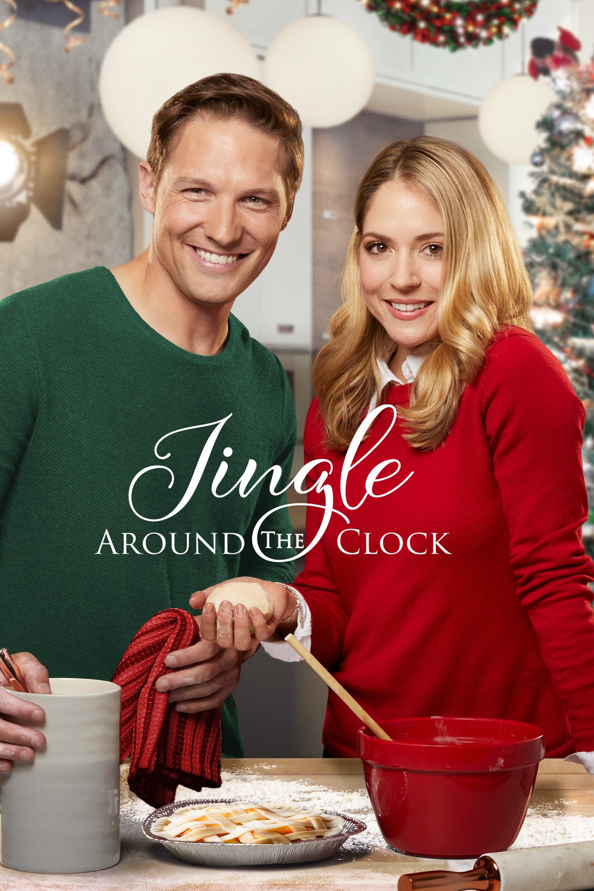 """Poster for the movie """"Jingle Around the Clock"""""""
