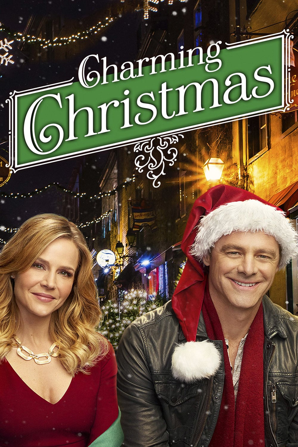 """Poster for the movie """"Charming Christmas"""""""