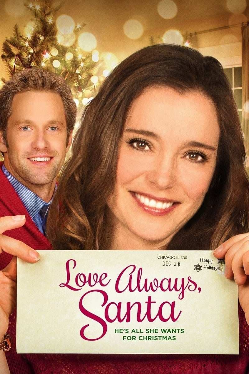 """Poster for the movie """"Love Always, Santa"""""""