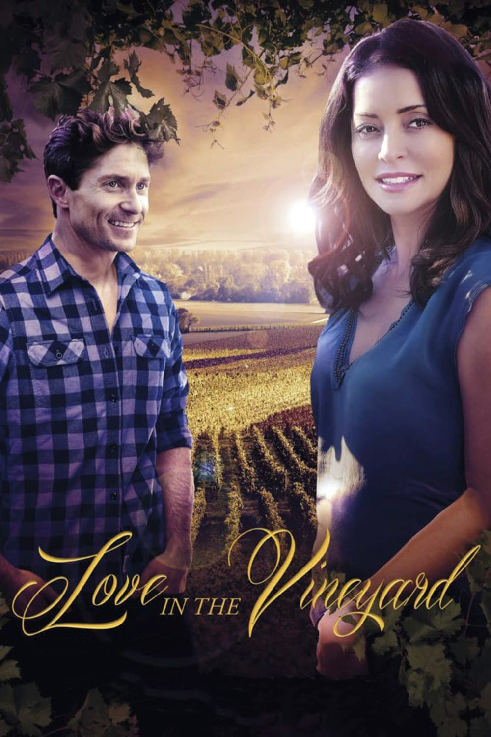 "Poster for the movie ""Love in the Vineyard"""