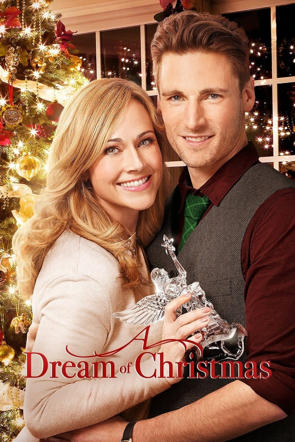 """Poster for the movie """"A Dream of Christmas"""""""